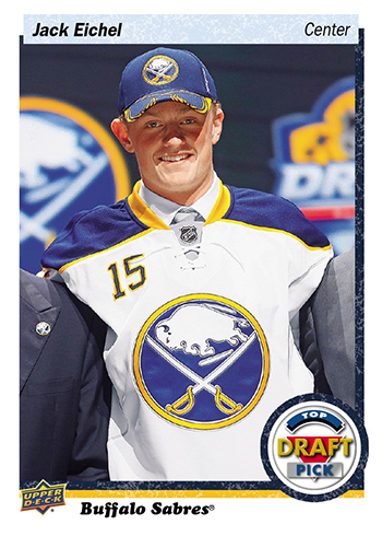 2016-Upper-Deck-NHL-Draft-Pick-Set-Jack-Eichel