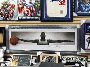 Upper-Deck-Cardboard-Legends-Van-Nuys-CA-Michael-Jordan-Breaking-Through-Wings