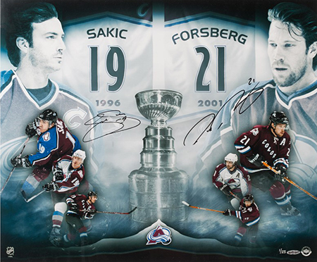 joe-sakic-peter-forsberg-autographed-2x-champs-photo-upper-deck-authenticated-signed-autograph-dual
