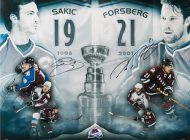 Hockey Gifts for Dad: Check Out Upper Deck Authenticated's Peter Forsberg and Joe Sakic Collectibles