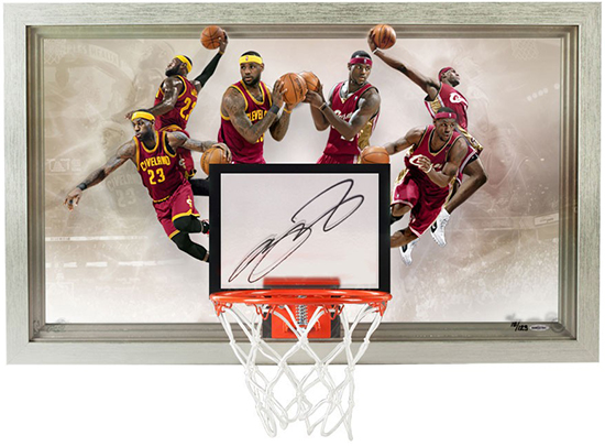 lebron-james-autographed-deja-vu-acrylic-backboard-upper-deck-authenticated-signed