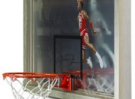 Brag Photo: Upper Deck Debuts a New Collectible for Michael Jordan with the Autographed 1988 Slam Dunk Backboard
