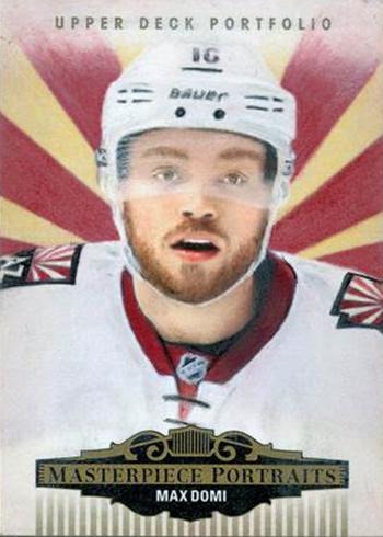 2015-16-Upper-Deck-NHL-Portfolio-Masterpiece-Portraits-Max-Domi