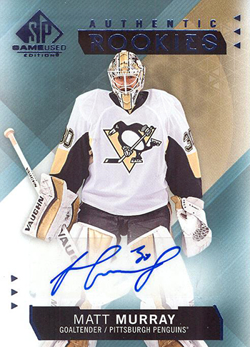 2015-16-Upper-Deck-NHL-SP-Game-Used-Rookie-Autograph-Matt-Murray