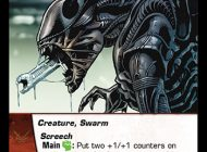 Vs System® 2PCG™: The Alien™ Battles – They're Coming Out of the Walls!