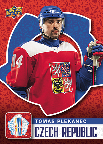 2016-Upper-Deck-World-Cup-of-Hockey-Promotional-Set-Tomas-Plekanec
