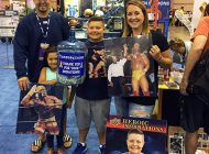 Upper Deck Helps 10-Year-Old Brady Kahle Stand Up Against Cancer at the National Sports Collectors Convention