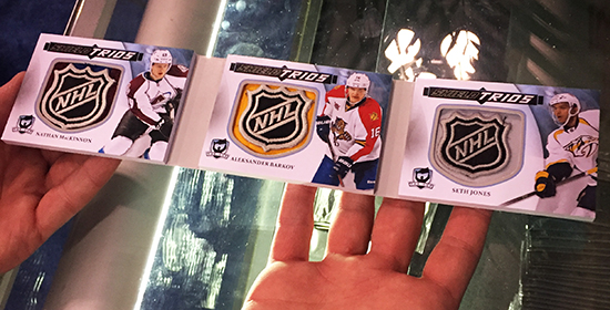 National-Sports-Collectors-Convention-Upper-Deck-Breakers-Lounge-Triple-Shield-Card-NHL