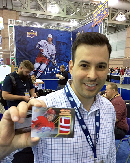 National-Sports-Collectors-Convention-Upper-Deck-Breakers-Lounge-UD-Black-Dylan-Larkin