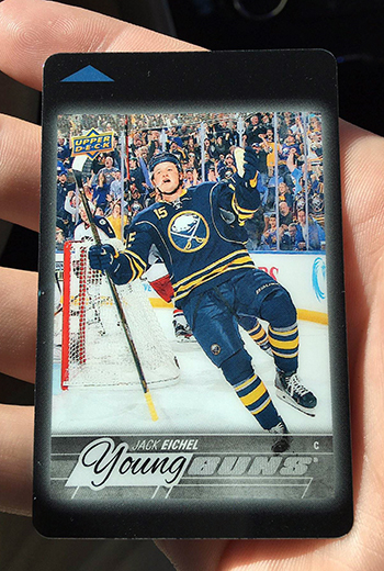 Room-Key-National-Sports-Collectors-Convention-Jack-Eichel-Young-Guns