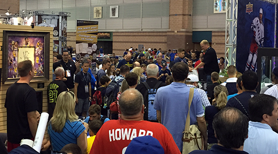 Upper-Deck-National-Sports-Collectors-Convention-Giveaway-Raffle-Corporate-Booth-Large-Crowd