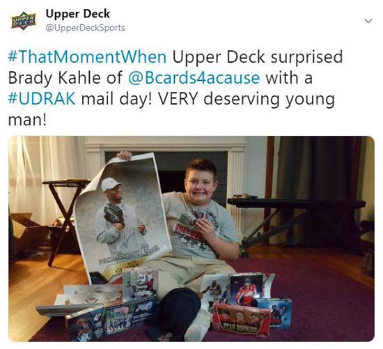e09bf365a Upper Deck s Random Acts of Kindness Program Explained ‹ Upper Deck Blog