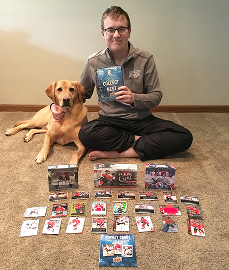 For Zach Sample Collecting Hockey Cards With AspergerS Has Brought