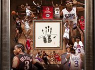 Allen Iverson Receives Hall-of-Fame Memorabilia Attention with the Upper Deck Authenticated Tegata