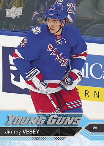 2016-17-nhl-upper-deck-series-one-young-guns-rookie-card-jimmy-vesey