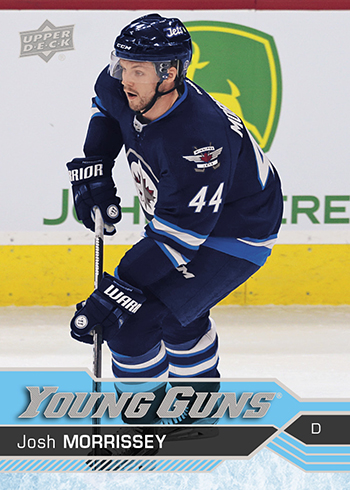 2016-17-nhl-upper-deck-series-one-young-guns-rookie-card-josh-morrissey