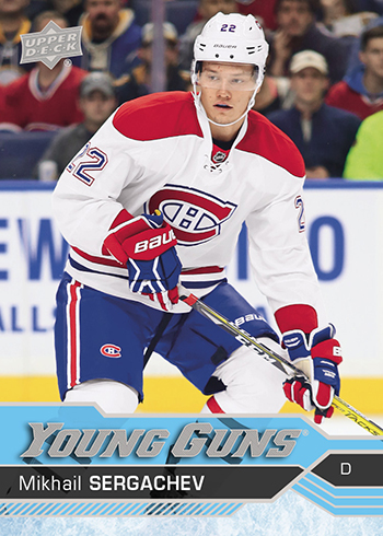 2016-17-nhl-upper-deck-series-one-young-guns-rookie-card-mikhail-sergachev