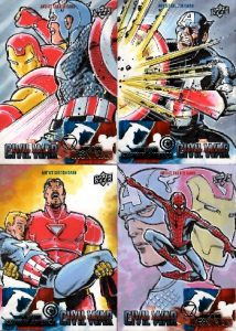 2016-marvel-captain-america-civil-war-sketch-card-mitch-ballard-spider-man-iron