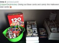 Trick or Trade! Collectors Use Upper Deck Trading Cards as an Alternative to Candy this Halloween!