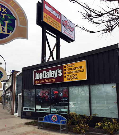 winnipeg-upper-deck-visit-hobby-shop-joe-daley-outside