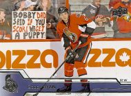 Upper Deck Commemorates the Jansen Boys Scoring a Puppy off a Bobby Ryan Goal on a New Hockey Card