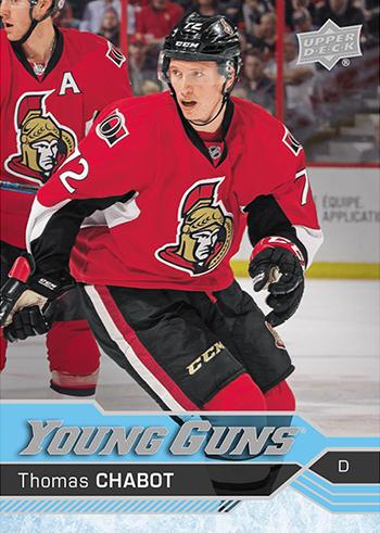 2016-17-NHL-Upper-Deck-Hockey-Young-Guns-Rookie-Card-Thomas-Chabot