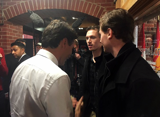 2016-17-NHL-Upper-Deck-Rookie-Radar-Ottawa-Senators-Thomas-Chabot-Prime-Minister-Justin-Tredeau