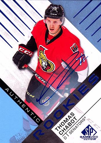 2016-17-NHL-Upper-Deck-Rookie-Radar-Ottawa-Senators-Thomas-Chabot-SP-Game-Used-Autograph