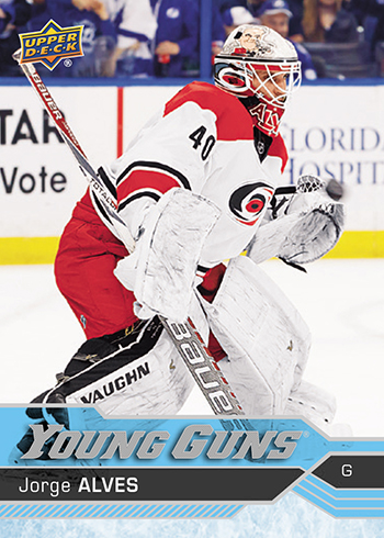 2016-17-NHL-Upper-Deck-Young-Guns-Jorge-Alves-Rookie-Card-Front-S