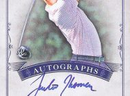 Autograph & Memorabilia Cards of Record Breaking Golfer Justin Thomas Available Exclusively in 2016 Goodwin Champions from Upper Deck!