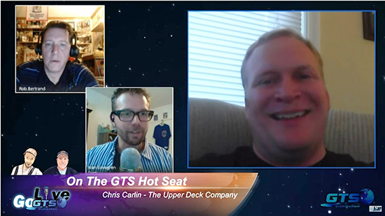 Go-GTS-Live-Upper-Deck-Hobby-Web-Show-Chris-Carlin