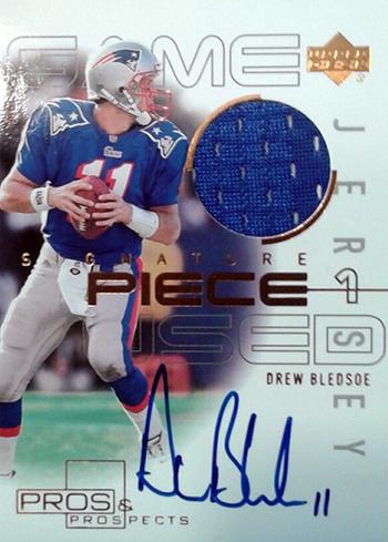 2000-Upper-Deck-Pros-Prospects-Patriots-Drew-Bledsoe-Autograph-Jersey-Cardjpg