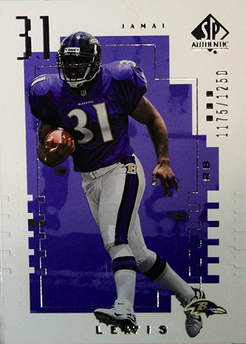 2000-Upper-Deck-SP-Authentic-Football-NFL-Best-Rookie-Cards-Jamal-Lewis