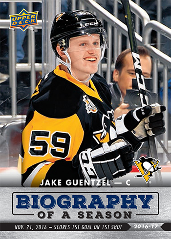 2016-17-NHL-Biography-of-a-Season-Upper-Deck-Rookie-Cards-Jake-Guentzel