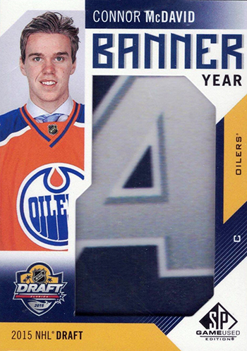 2016-17-NHL-SP-Game-Used-Banner-Year-Connor-McDavid