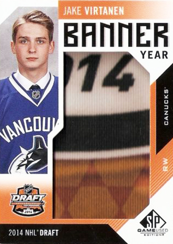 2016-17-NHL-SP-Game-Used-Banner-Year-Jake-Virtanen