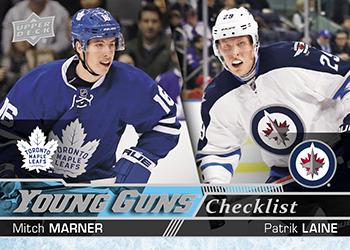 2016-17-NHL-Upper-Deck-Series-Two-Young-Guns-Rookie-Card-Marner-Laine