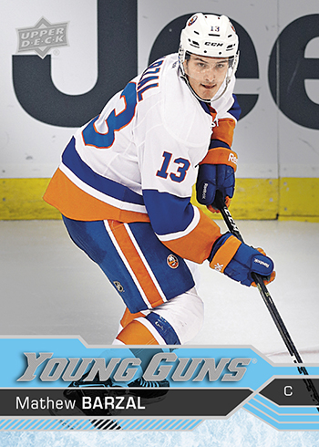2016-17-NHL-Upper-Deck-Series-Two-Young-Guns-Rookie-Card-Mathew-Barzal