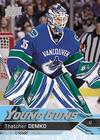 2016-17-NHL-Upper-Deck-Series-Two-Young-Guns-Rookie-Card-Thatcher-Demko