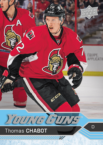 2016-17-NHL-Upper-Deck-Series-Two-Young-Guns-Rookie-Card-Thomas-Chabot