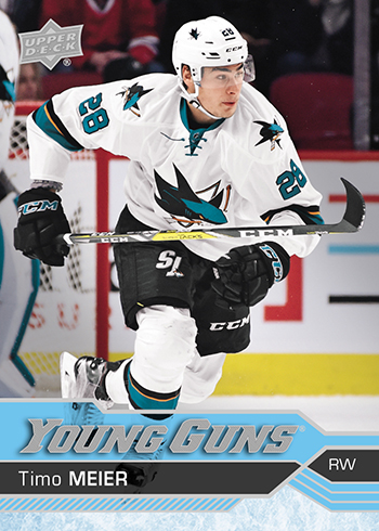 2016-17-NHL-Upper-Deck-Series-Two-Young-Guns-Rookie-Card-Timo-Meier
