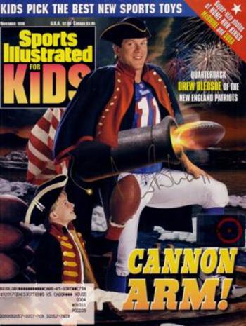 Sports-Illustraded-Kids-Drew-Bledsoe-Cover-Tom-Brady