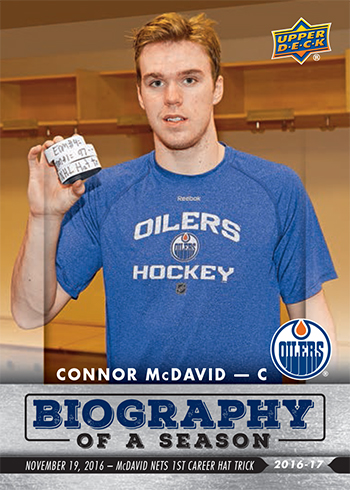 2016-17-Upper-Deck-NHL-Biography-of-a-Season-Edmonton-Oilers-Card5-Connor-McDavid