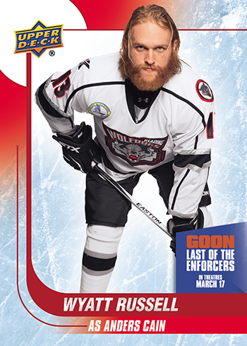 2017-Upper-Deck-Goon-Last-of-the-Enforcers-Trading-Cards-Wyatt-Russell-as-Anders-Cain
