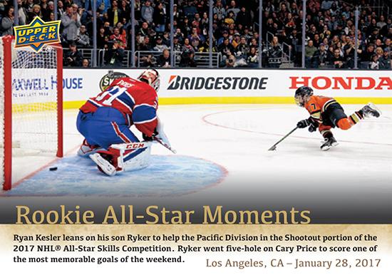 2016-17-NHL-Upper-Deck-Rookie-All-Star-Moments-Ryker-Kesler