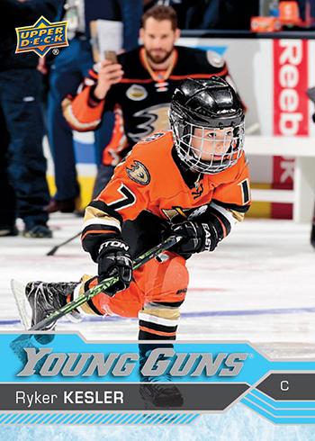 2016-17-NHL-Upper-Deck-Series-Two-Young-Guns-Ryker-Kesler