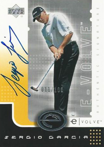 Sergio-Garcia-Masters-Champion-Upper-Deck-Evole-Autograph-Rookie-Card
