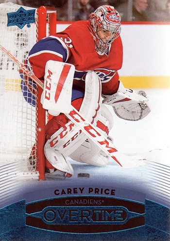 Stanley-Cup-Carey-Price-OVERTIME-Upper-Deck