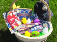 Brag Photo: Easter Baskets Look Much Better with Upper Deck Product in Them!