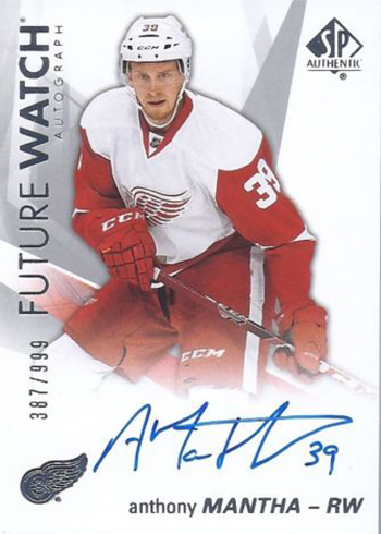 2016-17-NHL-Upper-Deck-Rookie-Card-Anthony-Mantha-Detroit-Red-Wings-SP-Authentic